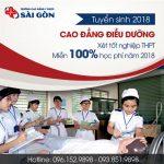 Xét tuyển Cao đẳng Điều Dưỡng TP.Hồ Chí Minh năm 2018