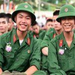 Các trường quân đội tuyển sinh cận thị