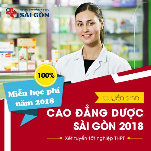 Miễn giảm học phí khi đăng ký xét tuyển Cao đẳng Dược Sài Gòn năm 2018
