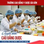 Trường cao đẳng Y dược Sài Gòn tuyển sinh văn bằng 2 Dược
