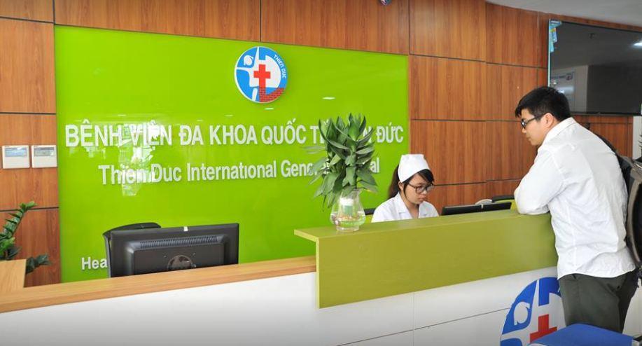 Bệnh viện đa khoa quốc tế Thiên Đức đi vào hoạt động