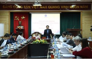 Phó Thủ tướng Vương Đình Huệ trong buổi họp quan trọng sửa đổi Nghị định số 105/2014/NĐ-CP