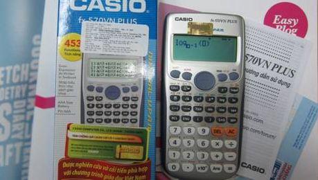 Máy tính thí sinh được sử dụng trong kỳ thi THPT quốc gia