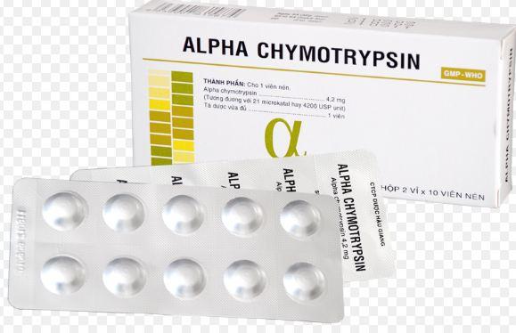 Những lưu ý trước khi dùng thuốc Alpha chymotrypsin®