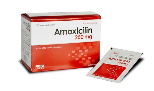Thuốc amoxicillin dạng gói