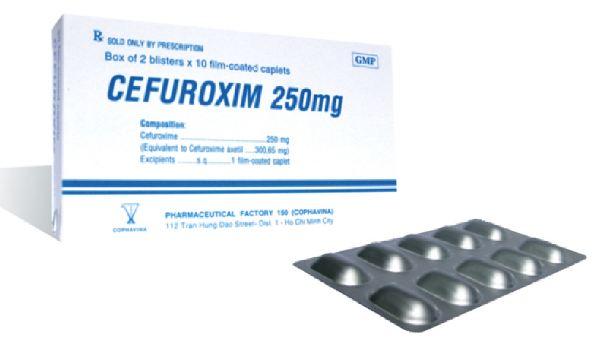 Liều dùng thuốc cefuroxime cho người lớn